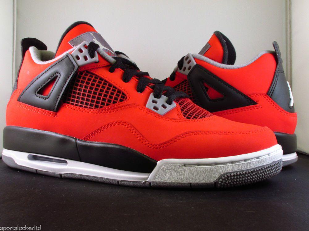 info for e2e54 c65d9 Nike Air Jordan 4 Retro(GS) Toro Red 408452 603 all Sizes Rare SportsLocker