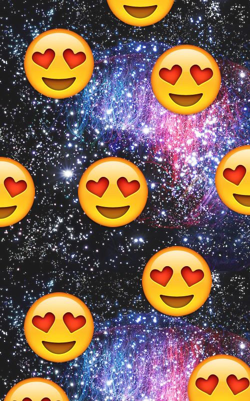 Galaxy Heart Emoji Everytime i see my crush... we heart it