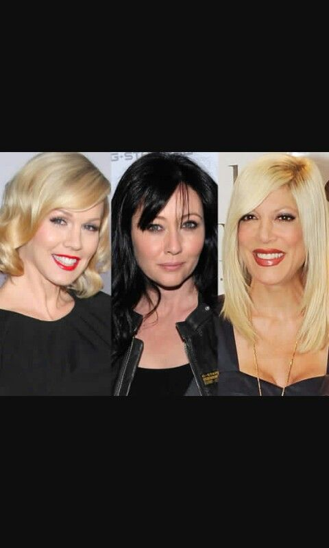 From left, Jennie Garth, Shannen Doherty and Tori Spelling