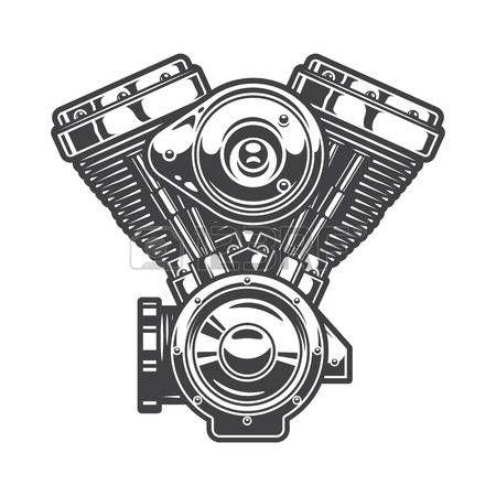 Resultado De Imagen Para Dibujo Motor V8 Motor En V