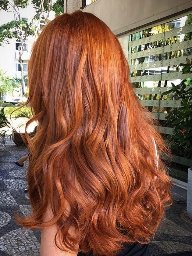 Nevertheless Anyone With Layered Haircuts For Long Hair Can Accomplish The Same With Images Red Hair Color Copper Red Hair Ginger Hair Color