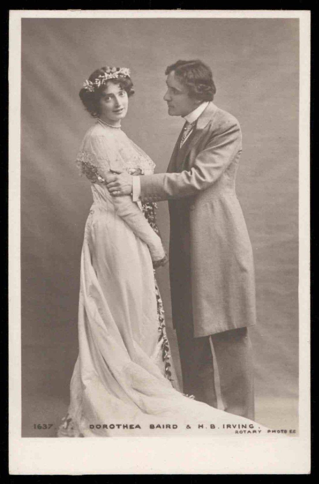 Edwardian love Romance couple Rhymes original 1910s Photo