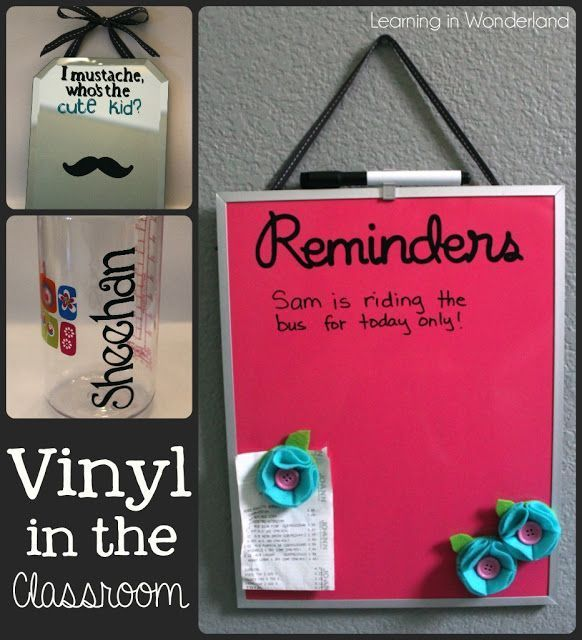 Vinyl Projects for the Classroom