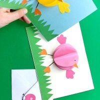 Paper Easter Crafts Kids Drawing And Craft Activities Easy
