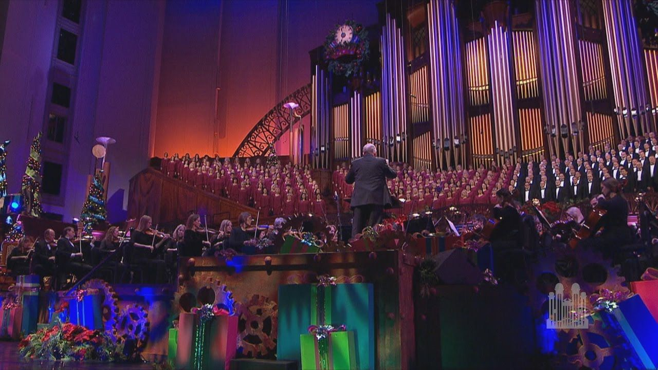 Sing a Christmas Carol, from Scrooge Mormon Tabernacle