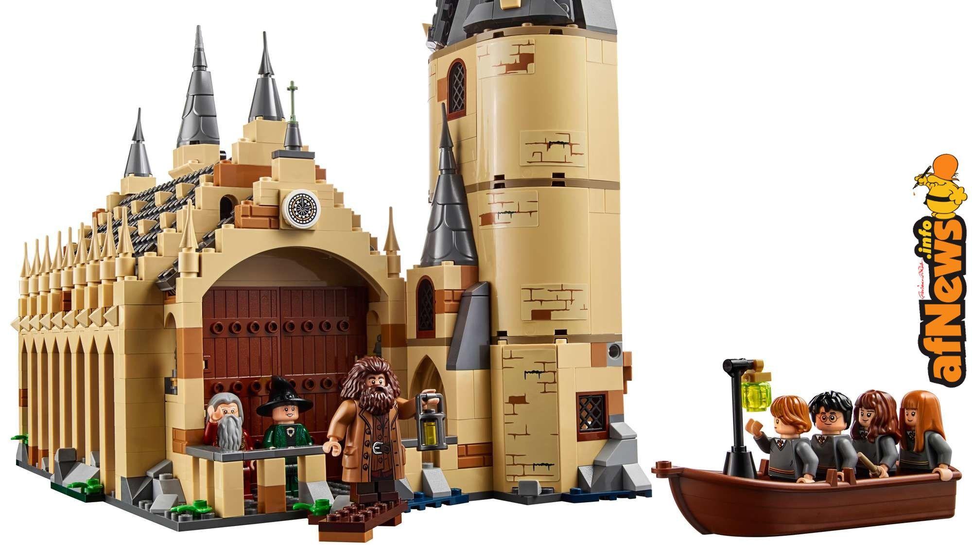 Lego Harry Potter Il Nuovo Castello Di Hogwarts Sta Per Arrivare Hogwarts Grosse Halle Lego Hogwarts Lego Harry Potter