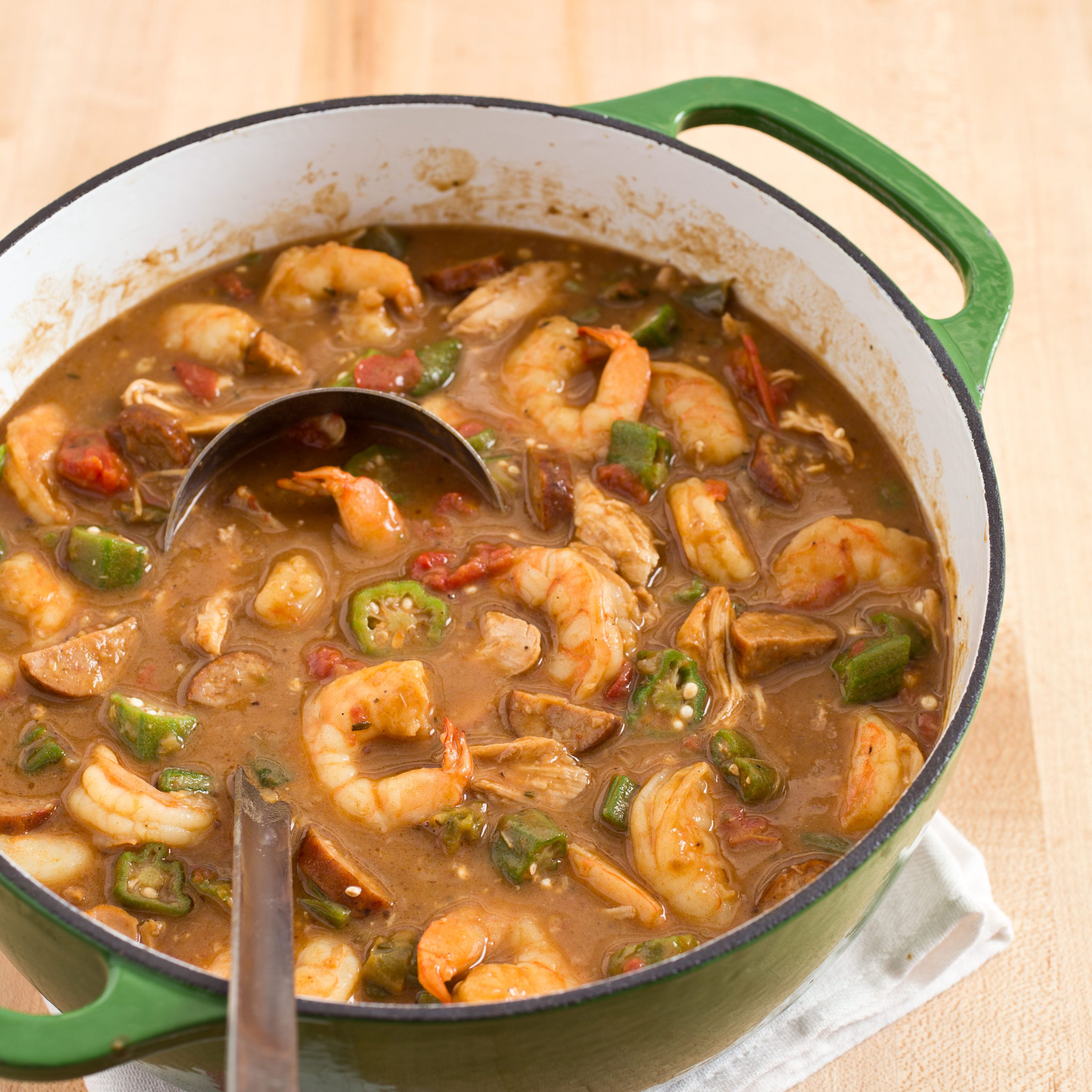 When A Dish Involves A Hazard Known As Cajun Napalm You Know There S Room For Improvement Cooking Gumbo Cooking Recipes Cooking