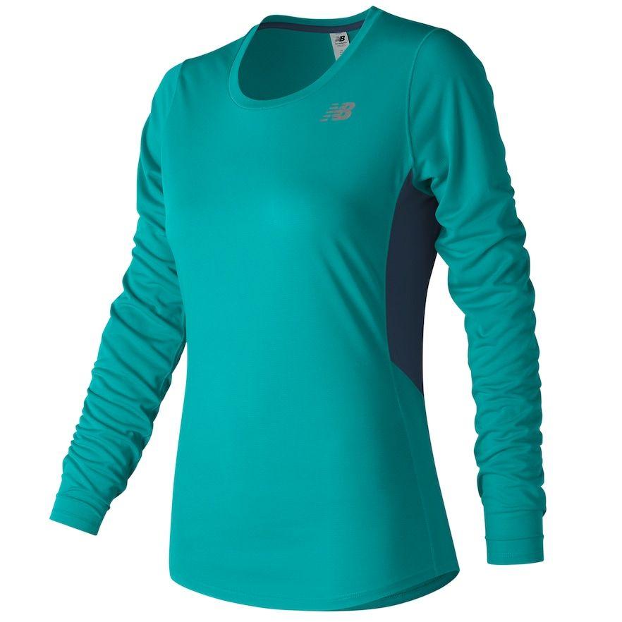 New Balance Accelrt Long Sleeve T ShirtLadies