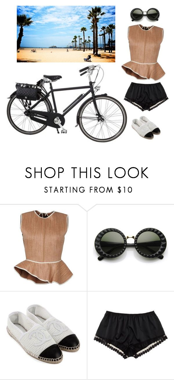 """""""Let's race"""" by chrystal ❤ liked on Polyvore featuring Chanel, Ter Et Bantine, CC, STELLA McCARTNEY and Venice Beach"""