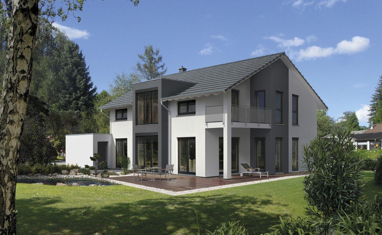 Home design bilder eine etage außen elegant und modern gestaltet wird sie prestige auch im