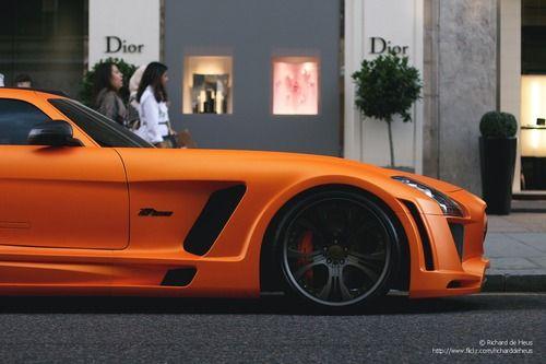 matte orange