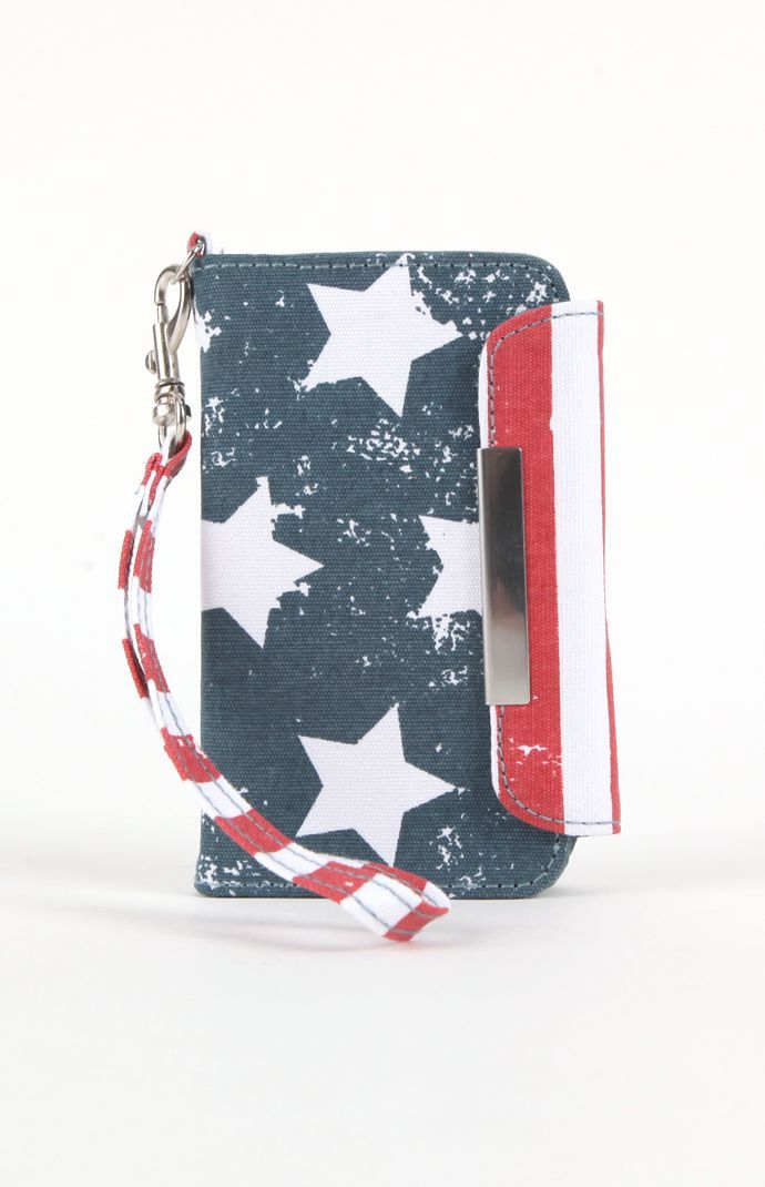 Kirra Americana iPhone Wristlet Designed by TShirt