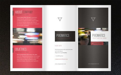 Free Brochure Templates PSD AI EPS Download Lugares Para - Property brochure template
