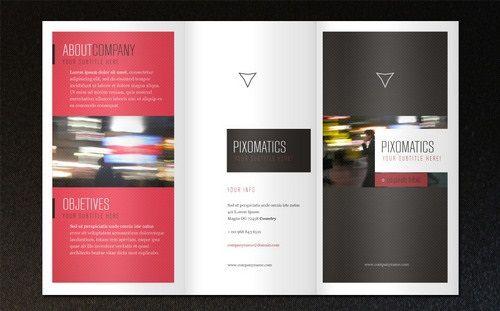 16 Free Brochure Templates PSD AI EPS Download Lugares para