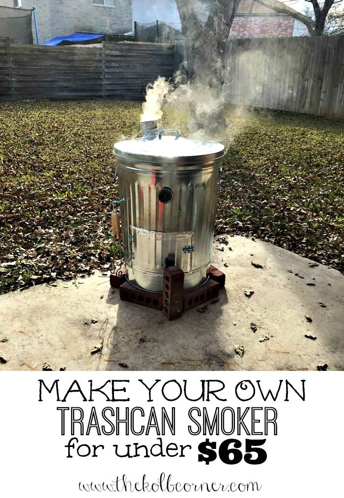 Full Size Of Trash Can Smoker Diy Charcoal Plans Image For