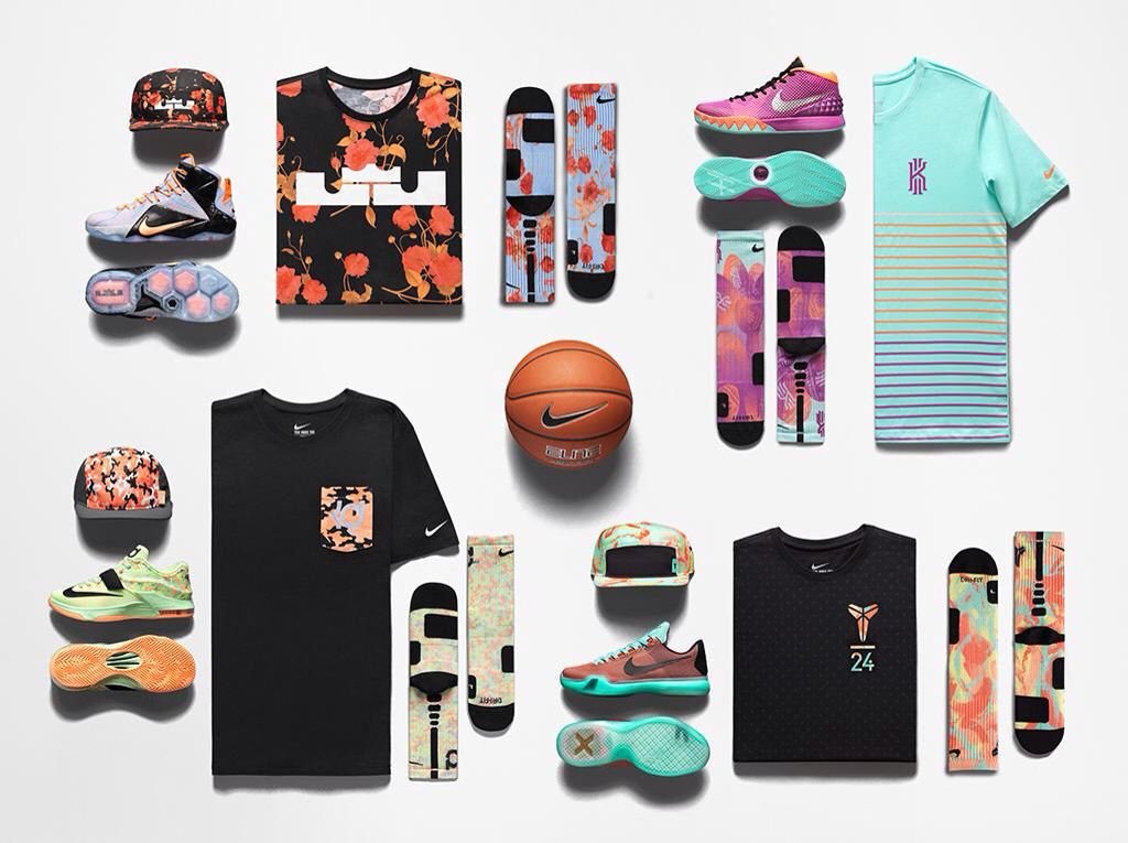 Nike Basketball Easter Collection feat. Kobe Bryant, LeBron James ...