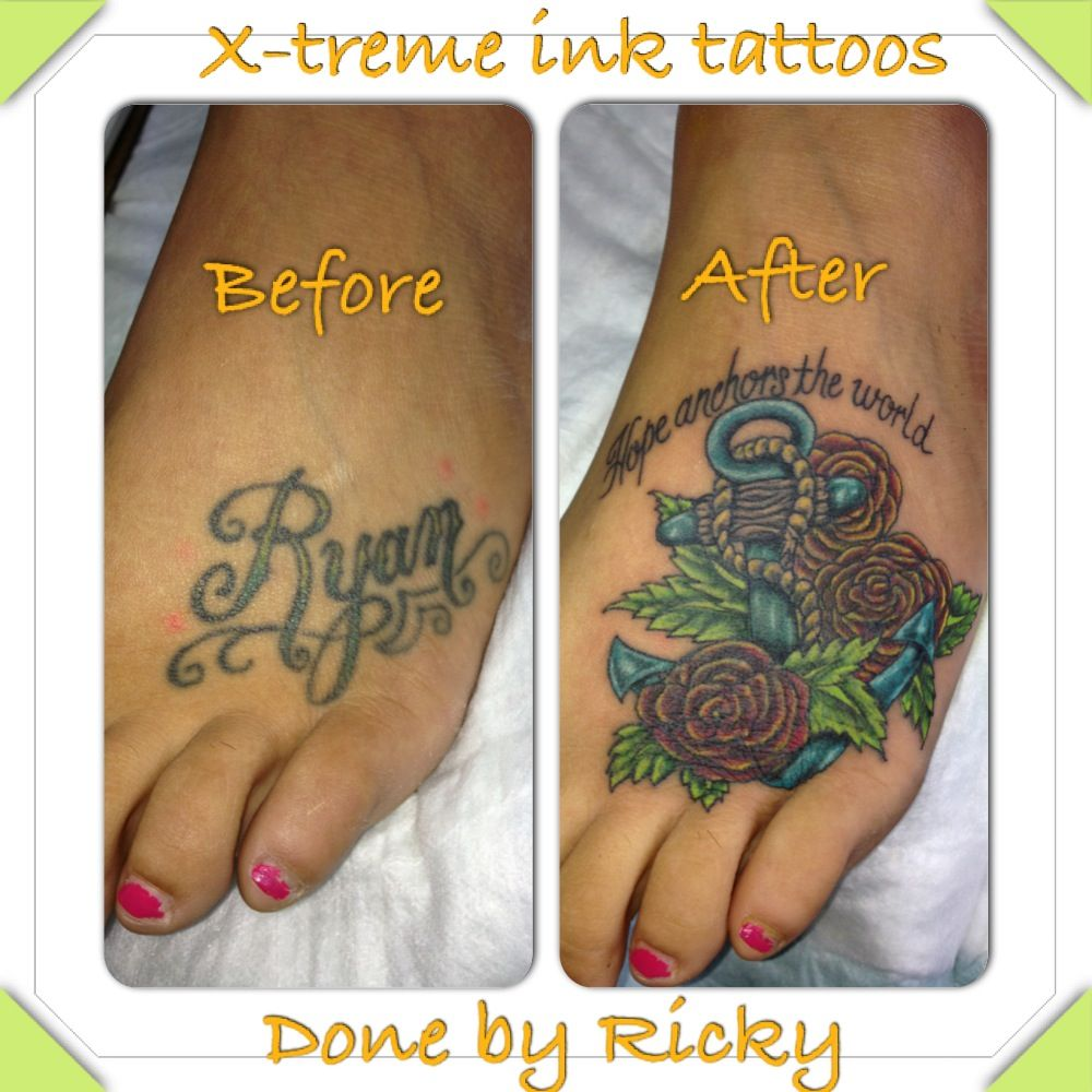 Done by ricky garza xtreme ink tattoos piercings