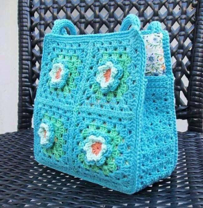 Easy Crochet Bag Patterns Crochet Purses And Handbags Pinterest