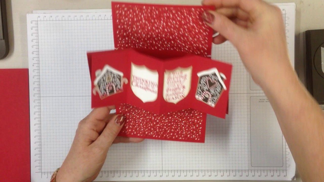 Twist N Pop Card From A4 Cardstock Fancy Fold Cards Twist Pop Slider Cards