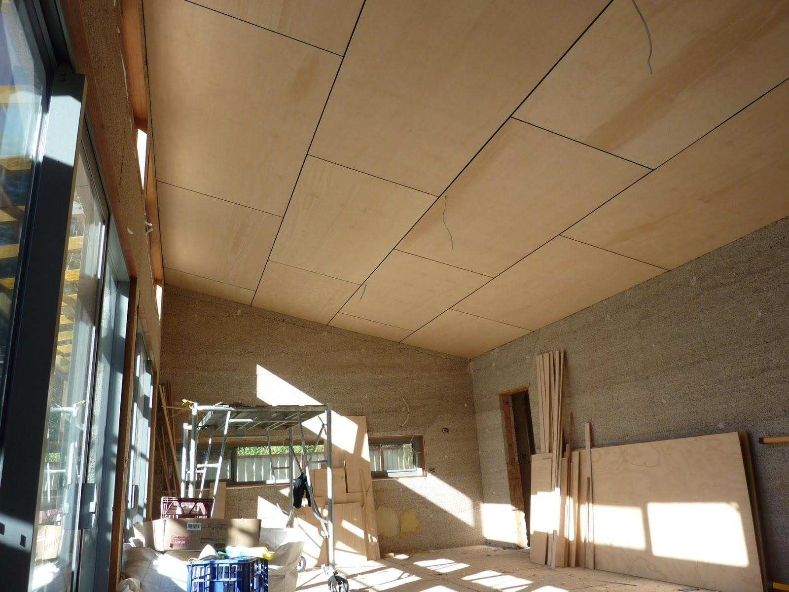 culburra hemp house: ceilings and internal walls completed | dream
