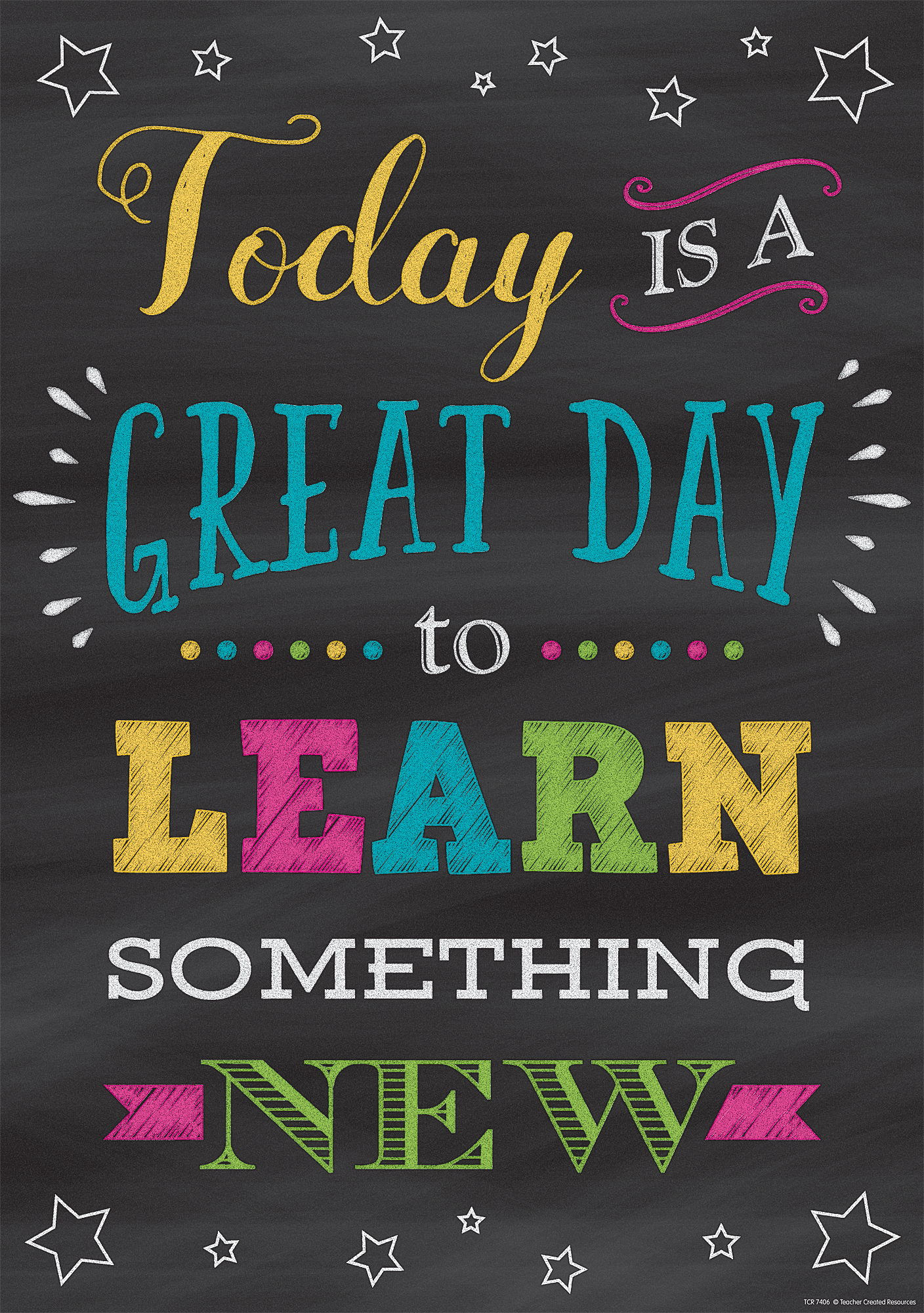 Classroom Setup Ideas ~ Today is a great day to learn something new positive