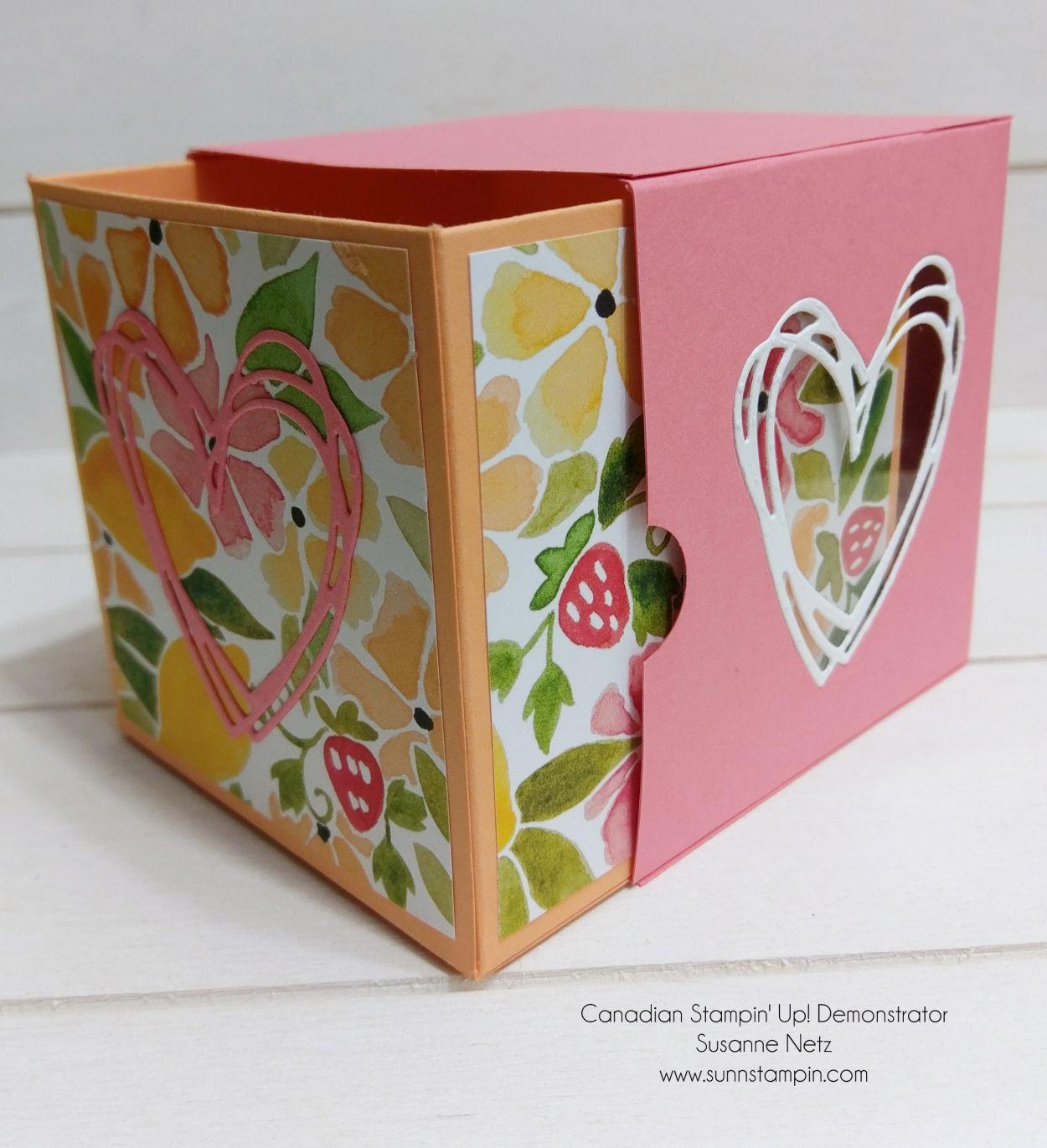 Canadian Stampin' Up! Demonstrator - Susanne Netz -  Shares Handmade Papercrafting Designs & Inspiration