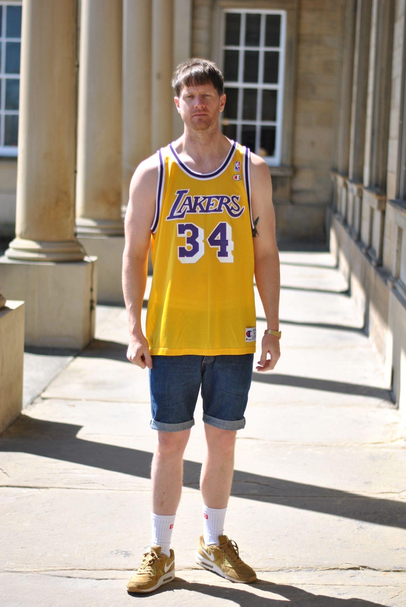 pretty nice 909c9 d3a9e LA Lakers jersey | Stuff I want to get | La lakers jersey ...