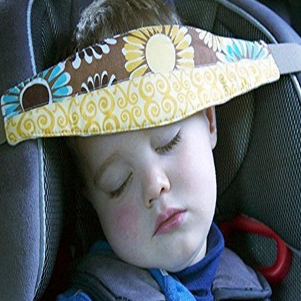 Safety Car Seat Sleep Nap Aid Baby Kids Sleeping Head Support Holder Belt Travel Baby Head Support Toddler Car Seat Pram Stroller
