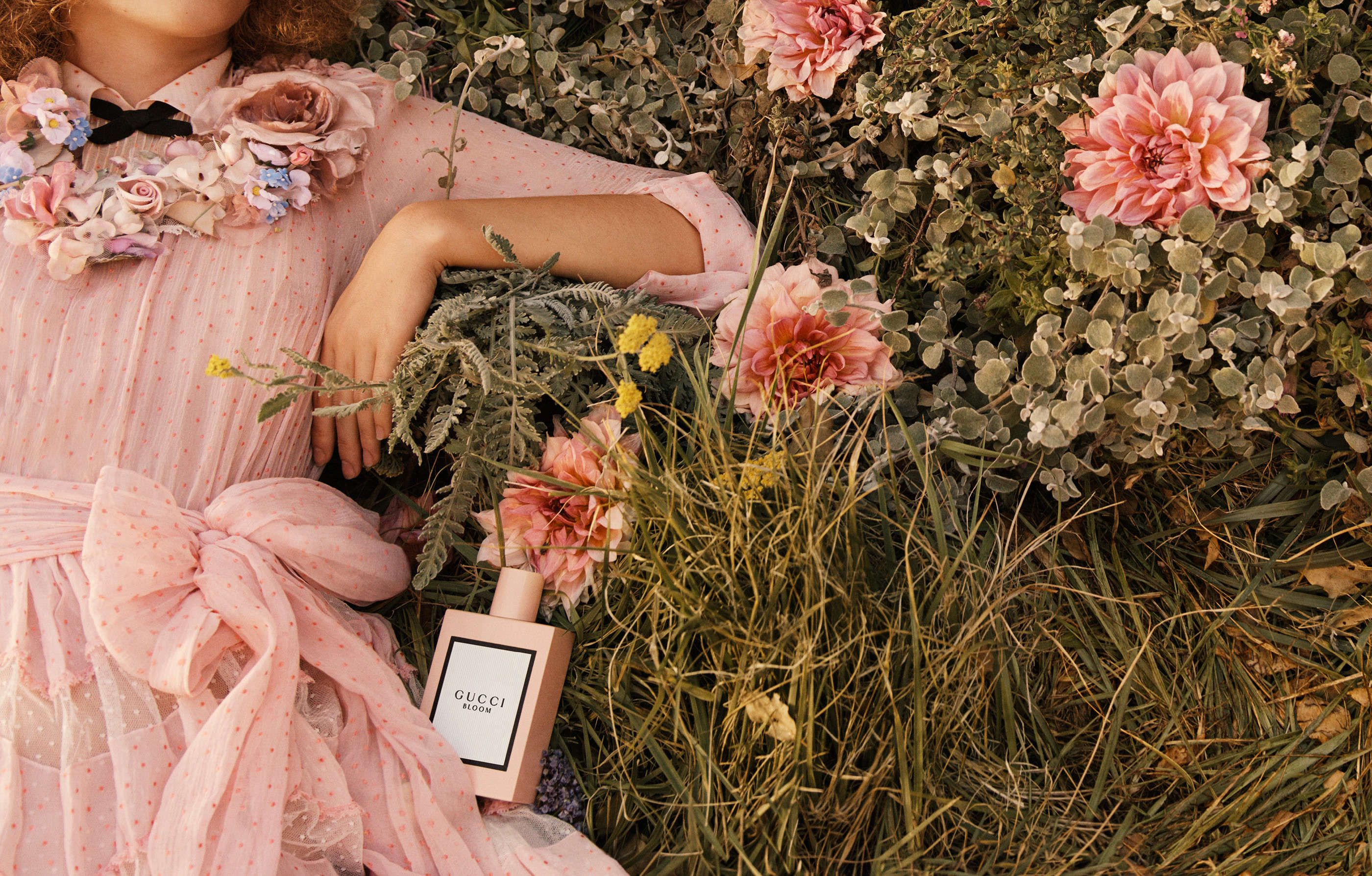 a0f04c473 Gucci debuts 'Bloom' Perfume Campaign and Opens Harrods Pop-up ...