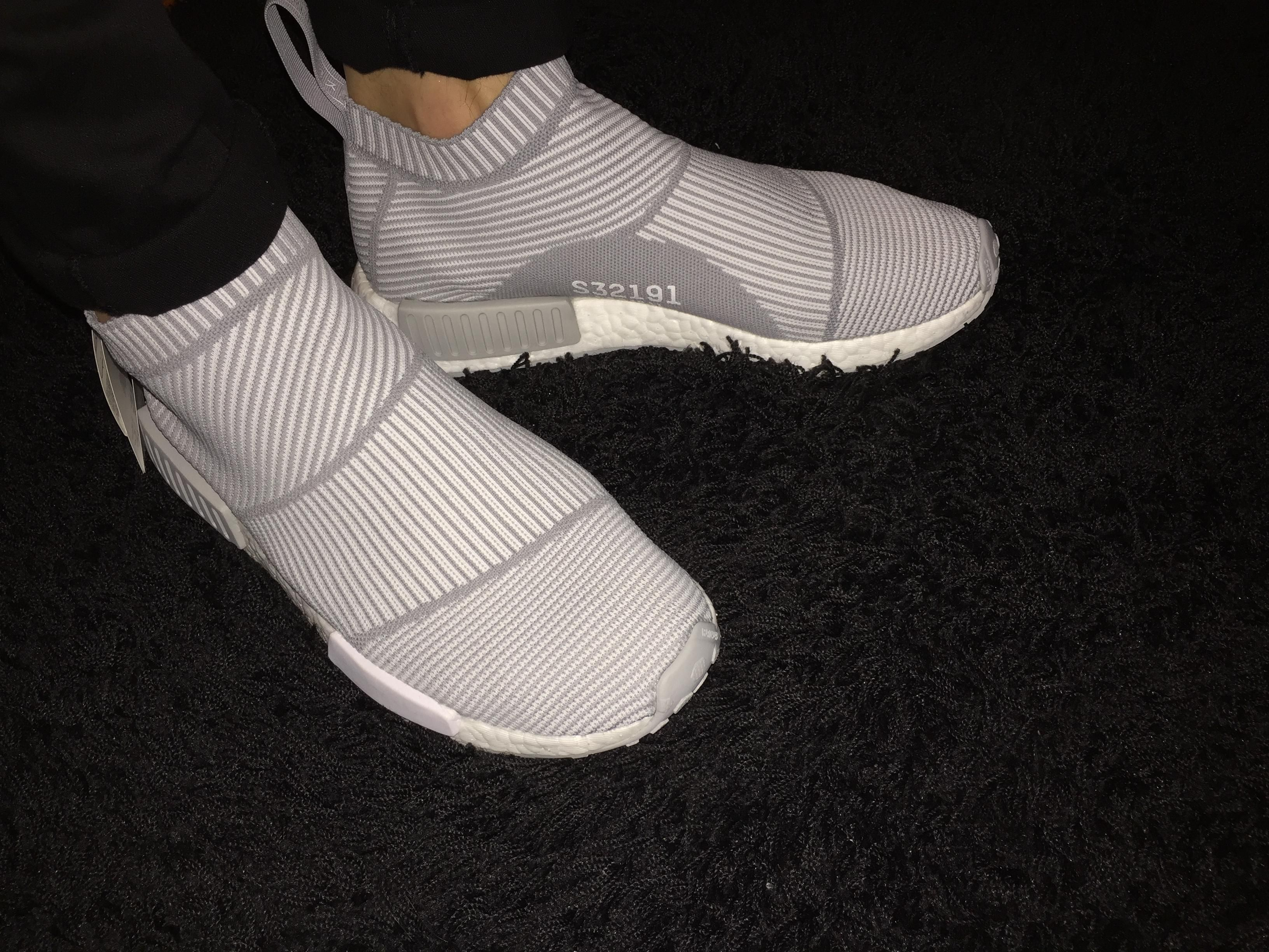 [PICKUP] Adidas NMD City Sock Grey (Unreleased) - ON FEET