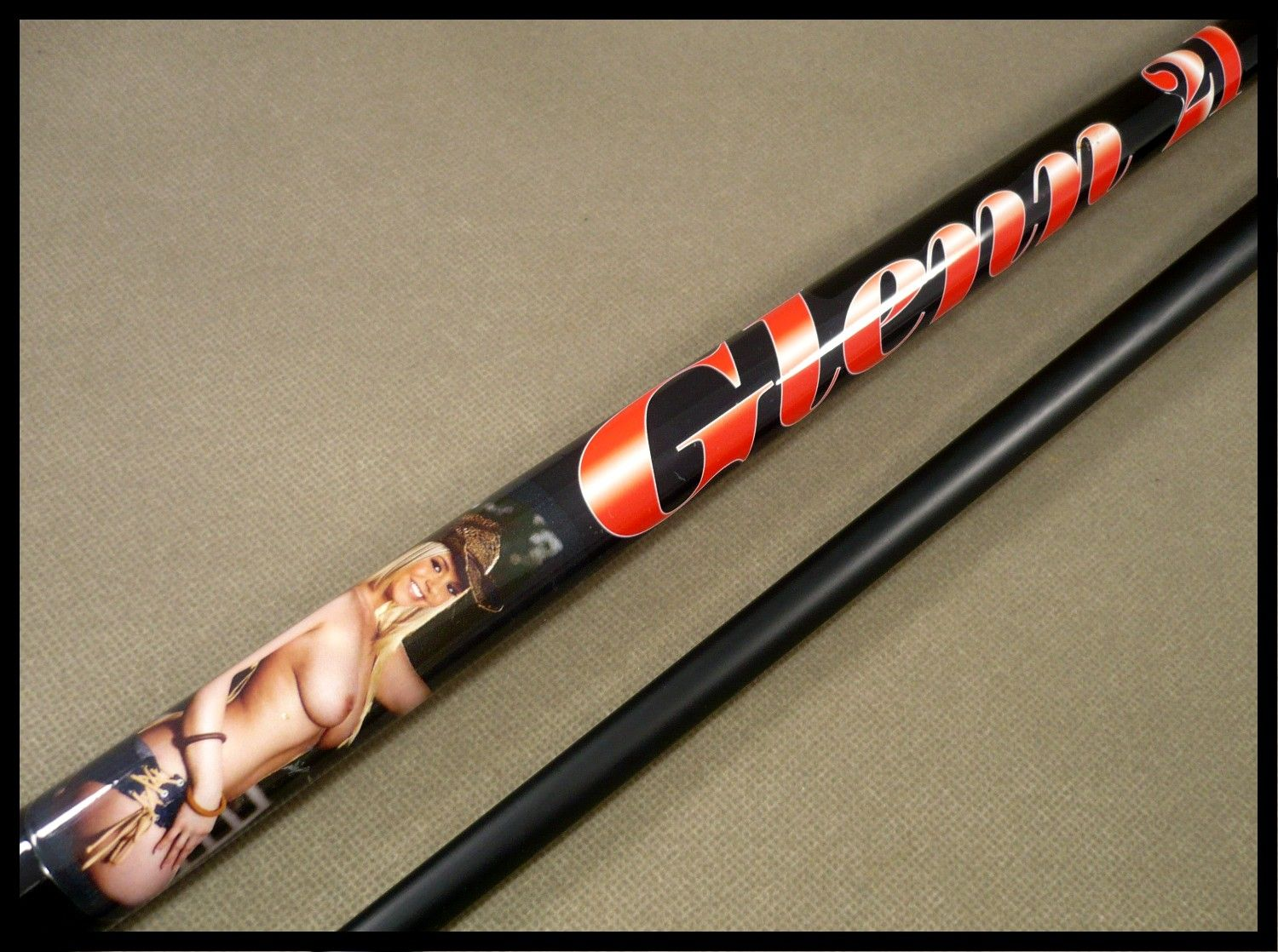 A Custom Pool Cue Design For The Boys Almost Anything Goes
