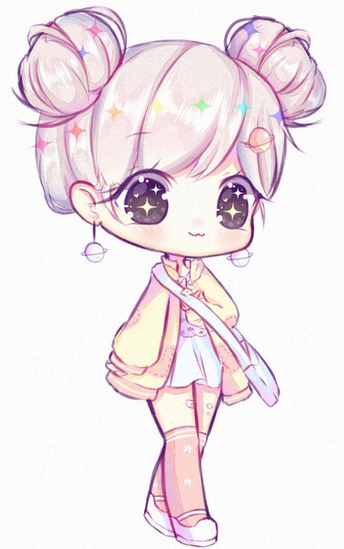 [AT] dasuri by Seraphychan Cute anime chibi, Chibi girl