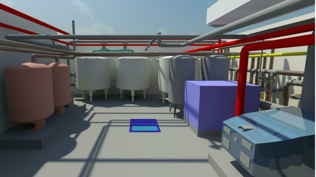 MEP BIM and Clash Detection for Plant Room at College Campus
