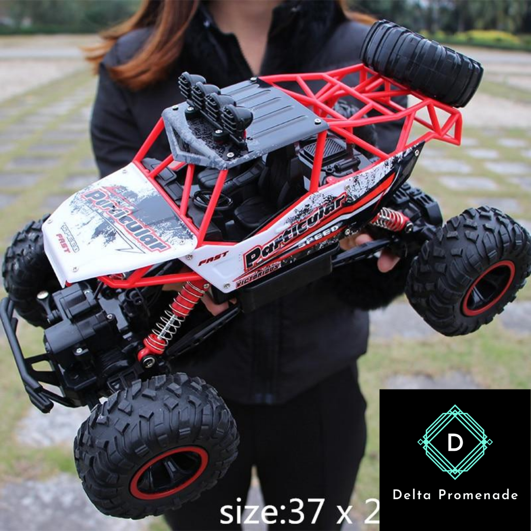 4 Wheel Drive Rc Car In 2020 Rc Cars Remote Control Cars Monster Trucks