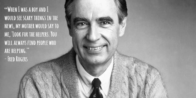 Mister Rogers is still wicked awesome. Kind of like everyone in Boston. #randomactsofkindness