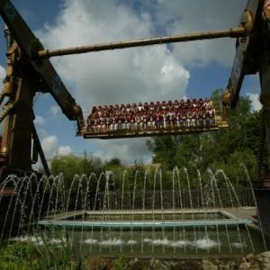 Thrills Walibi Holland Water Park Water Slides Roller Coaster