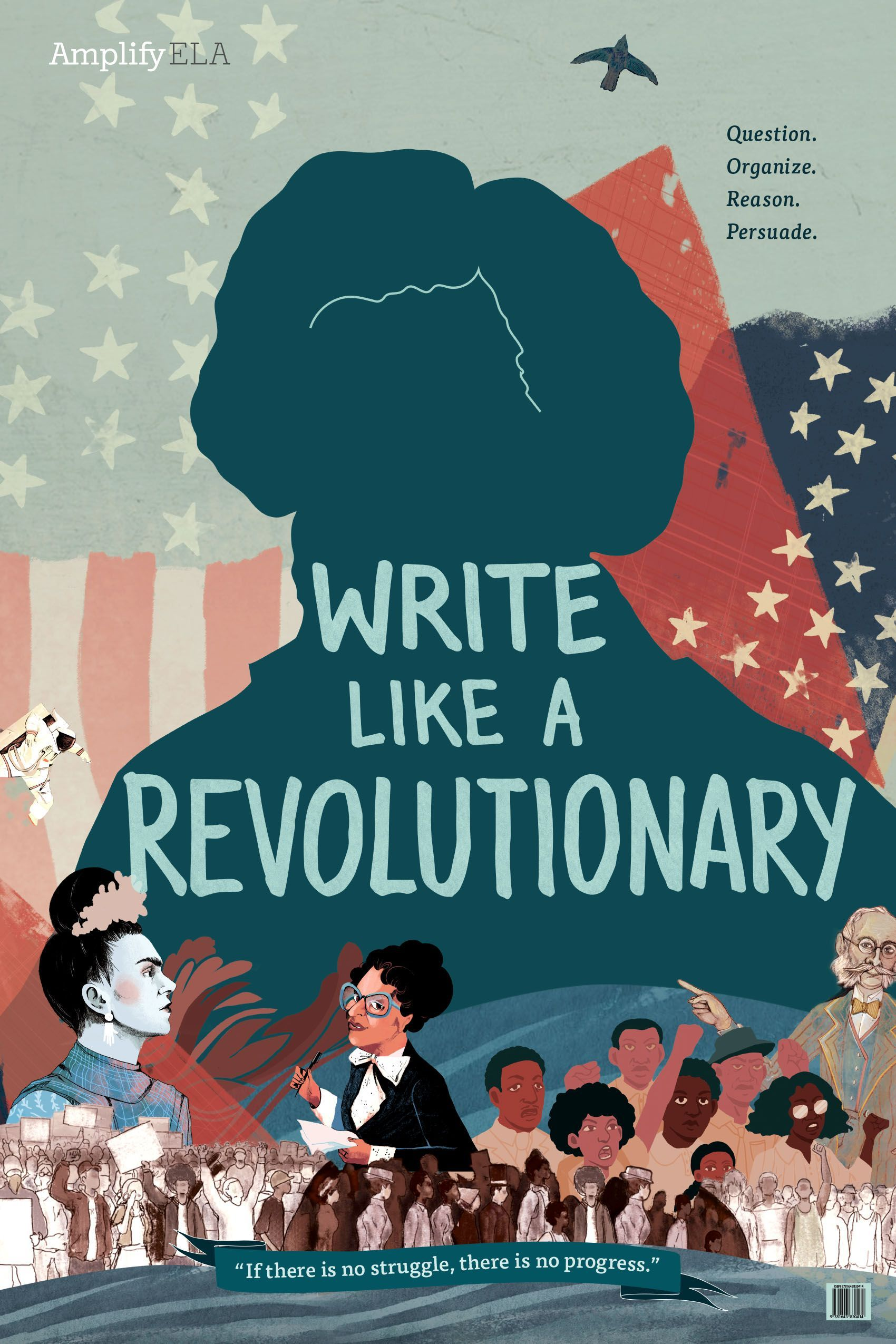 Write Like A Revolutionary Amplify Classroom Posters Children S Book Illustration [ 2550 x 1700 Pixel ]