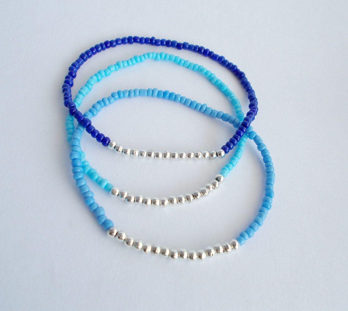 how to make beaded bracelets smaller