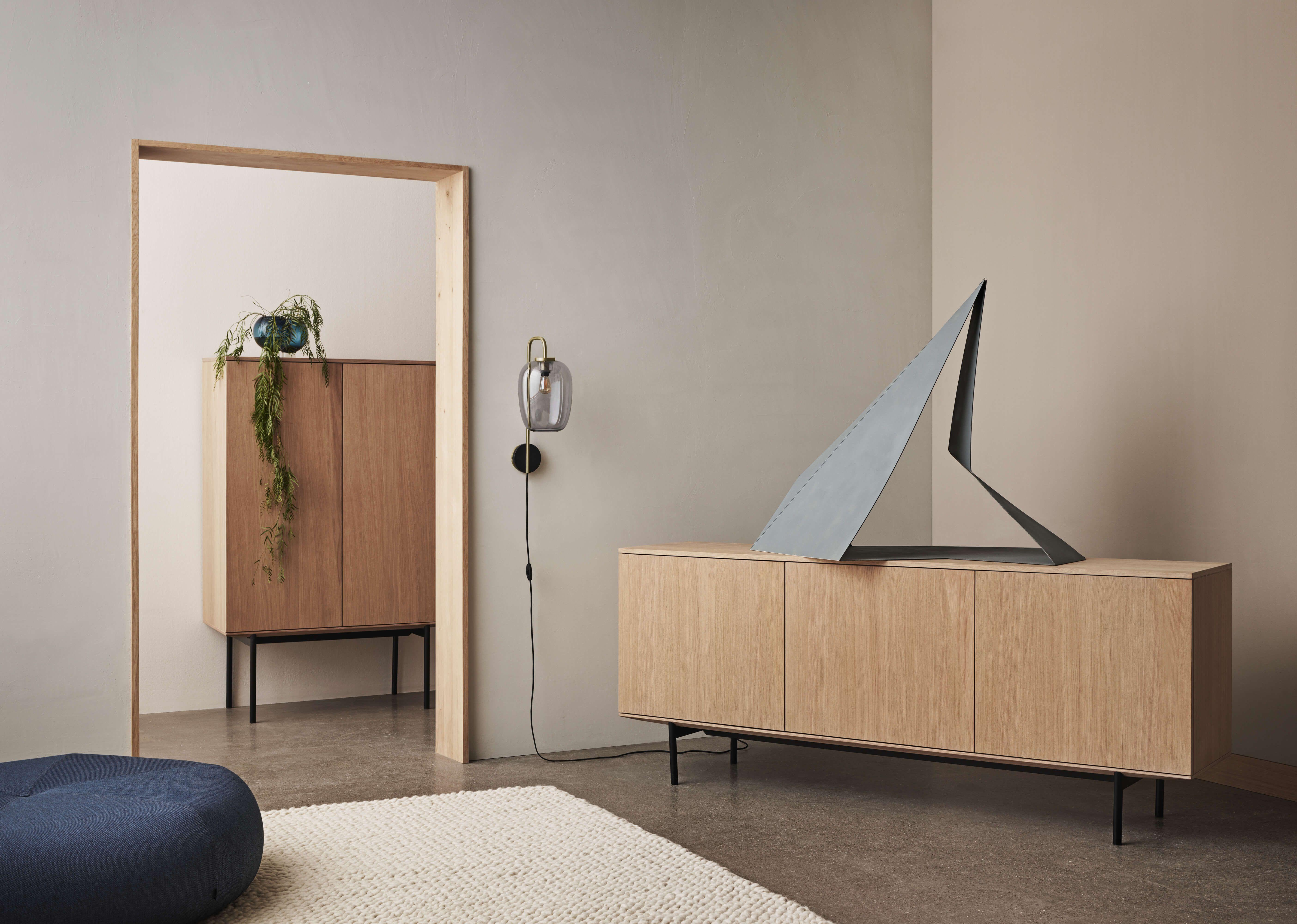 Silent Sideboard Meike Harde Oiled Oak In 2020 Furniture