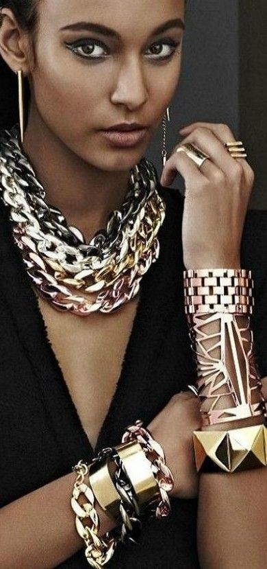 Mixed Metals How to Wear the Trend at Work without Over Doing it