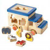 Animal Safari Truck #xmas gift #eco friendly xmas  children