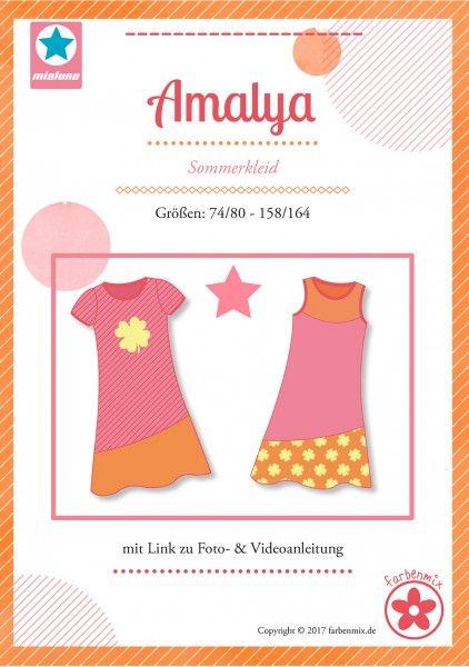 Amalya, Sommerkleid, Schnittmuster   Schnittmuster ...