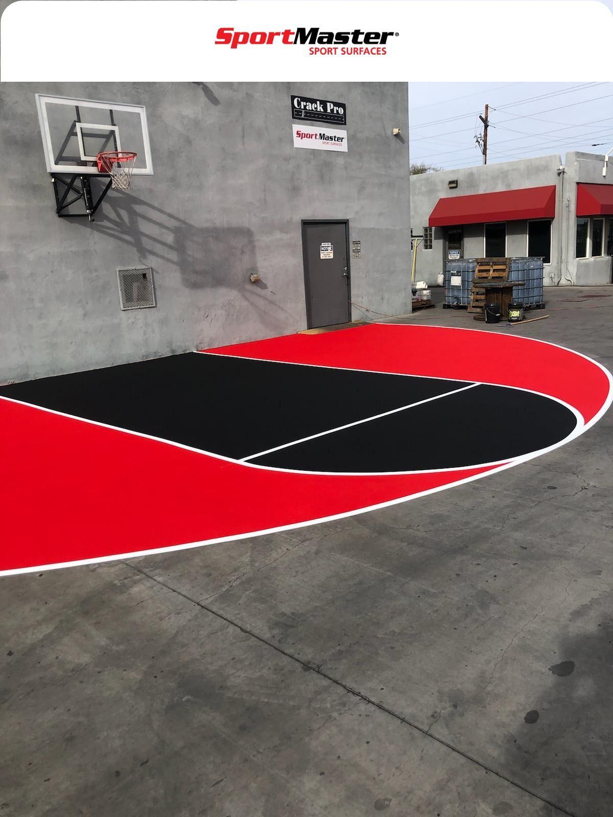 Sportmaster Basketball Court Surfaces Phoenix Az Home Basketball Court Outdoor Basketball Court Backyard Court