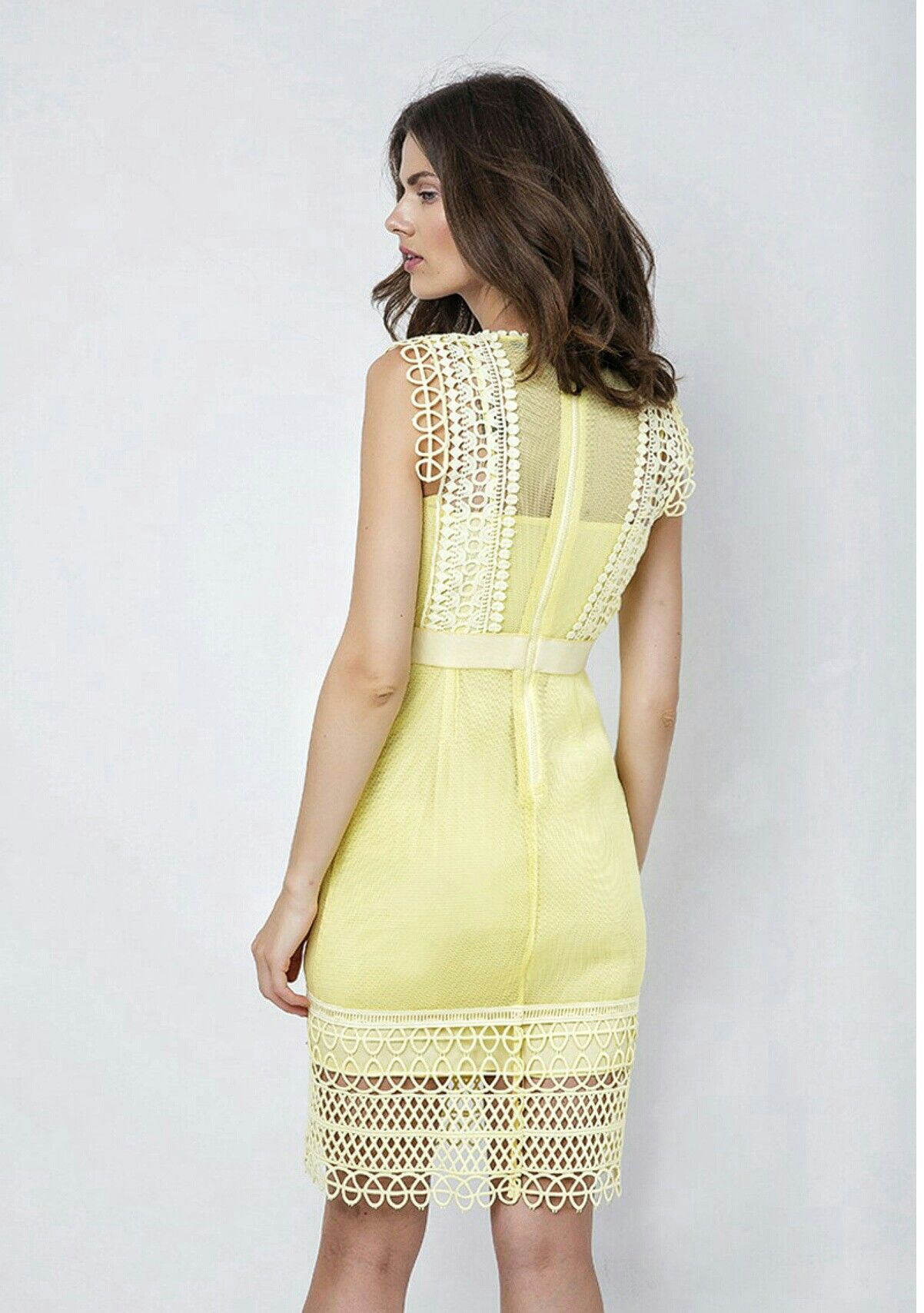 Yellow dress bdbfcac192e