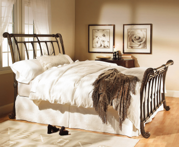 Queen Brookshire Complete Bed Bed furniture design, Iron