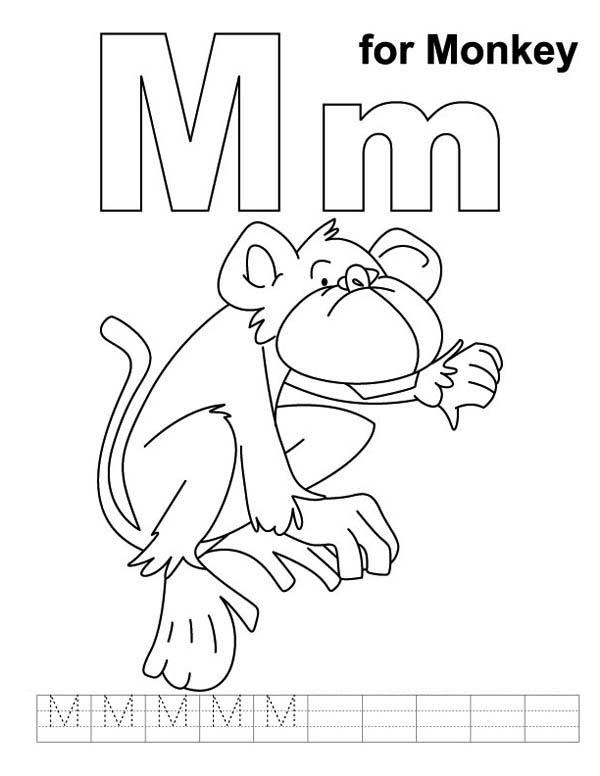Pin Oleh Colornimbus Di Monkey Coloring Pages