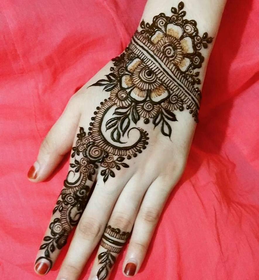 Mehndi Designs For Hands Bridal Rajasthani Mehndi Designs