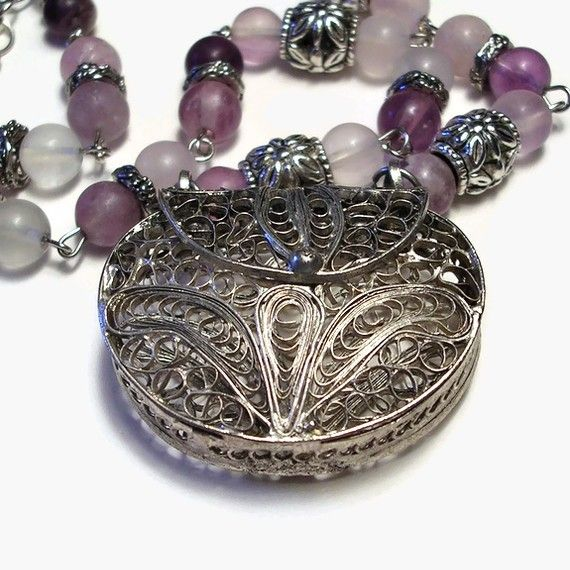 Treasured Necklace by HarvestMoonDesigns on Etsy, $35.00