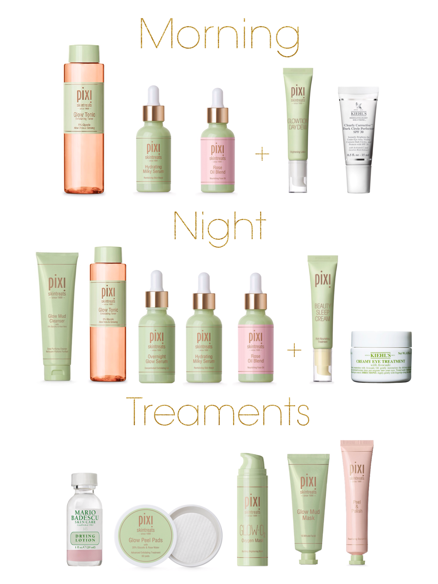 Skincare Routine for Glowing Skin: Pixi Glow Tonic, Hydrating