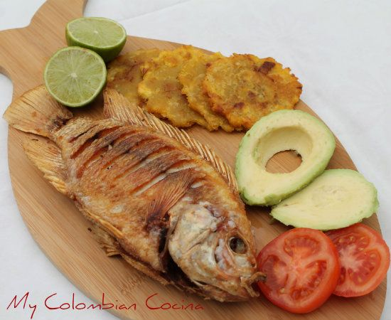 Mojarra tilapia frita my beautiful colombia pinterest for Comida para tilapia